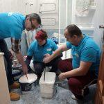 Mestskí dobrovoľníci vymaľovali bývalú Fruniho vilu